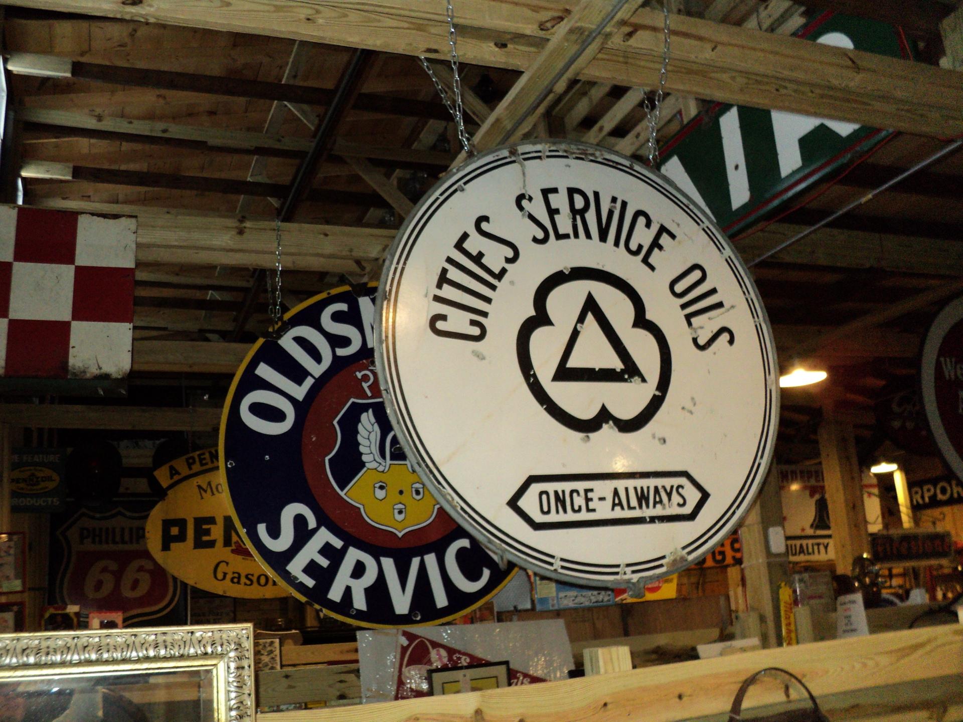 Citi Service Sign