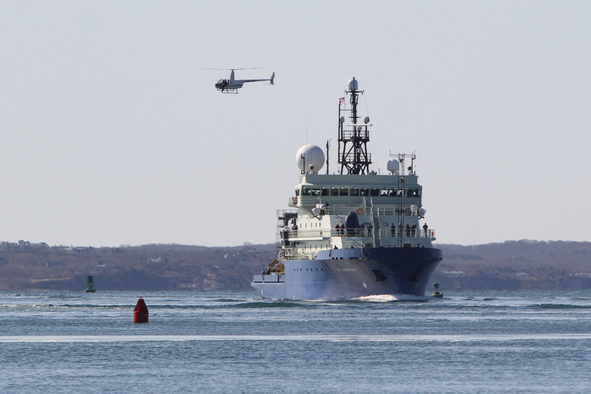 There's A New Ship In Town - Cape Cod Welcomes The R/V Neil Armstrong