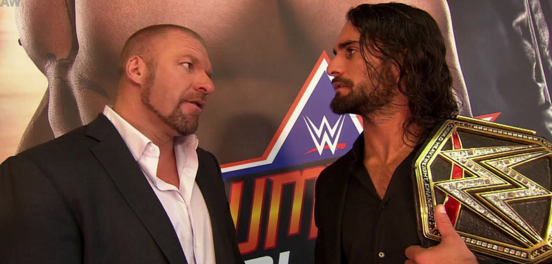 Triple H set to return soon; feuding with Rollins