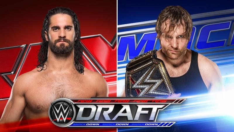 Full WWE Draft List