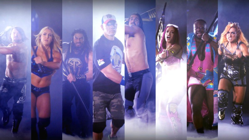 WWE Battleground 2016 Card