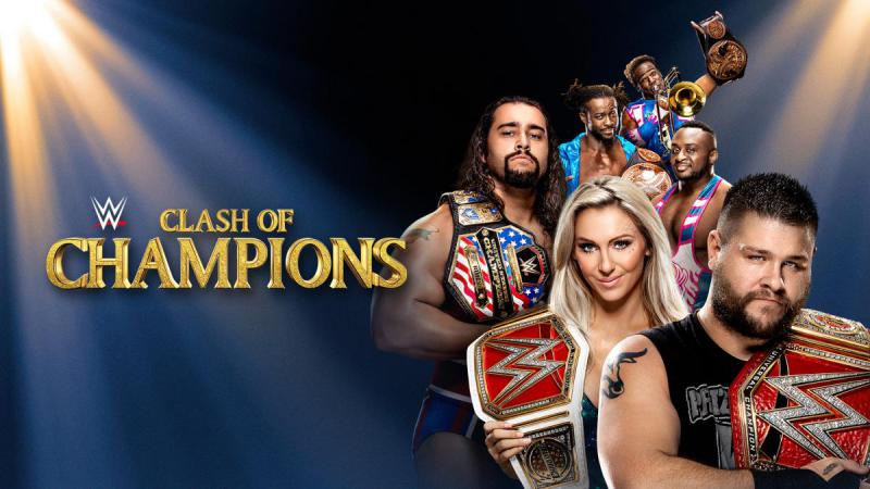 WWE Clash Of Champions 2016 (Updated Card)