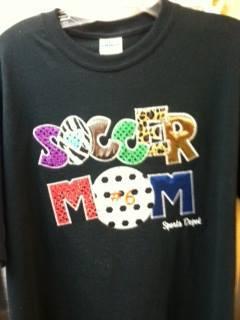 Soccer Mom Applique