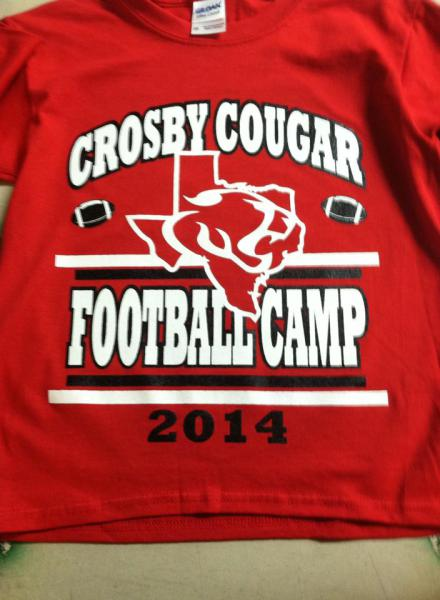Crosby Cougars Football Camp