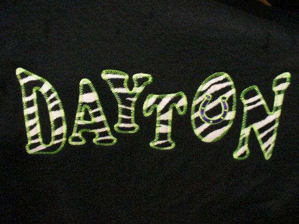 Dayton Applique