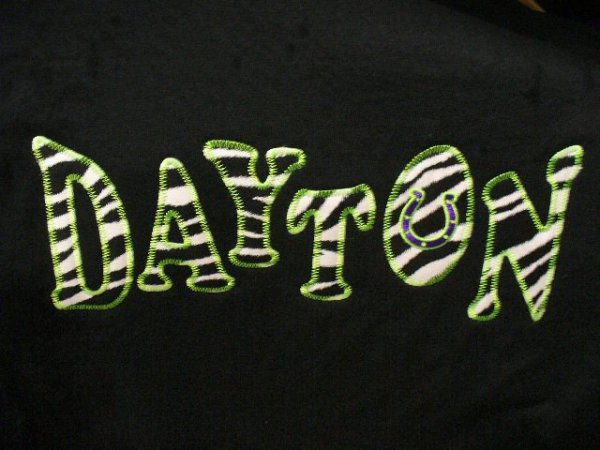 Dayton Applique