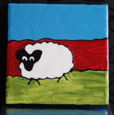"""Woolly Sheep"" Coasters"