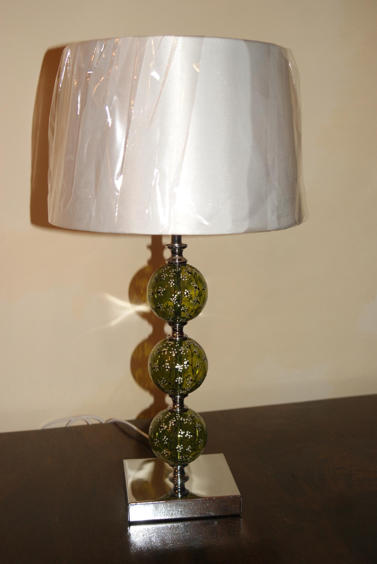 """Oriental Lamp"" Peridot Green"