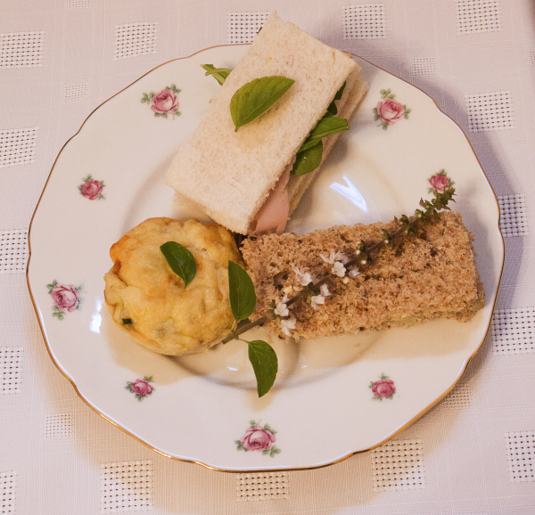 Savory plate