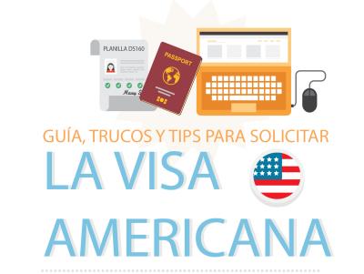 Guía para solicitar la visa Americana (INFOGRAFÍA)