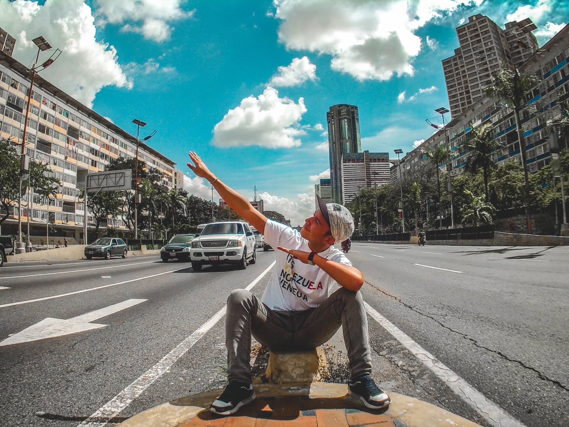 Fotos en lugares icónicos de Caracas Venezuela