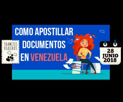 Apostillar documentos