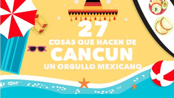 27 cosas que hacer en Cancun