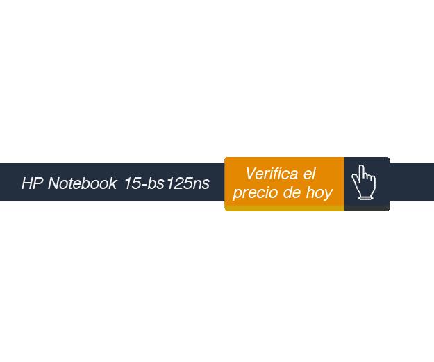 verificar precio de Hp Notebook 15-bs125ns