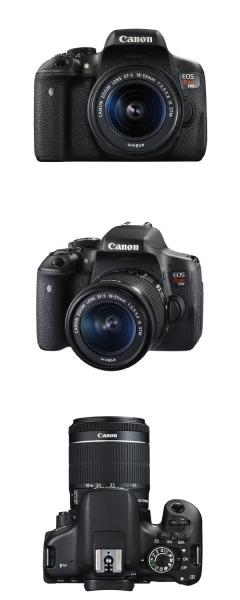 CANON EOS REBEL T6I + EF-S