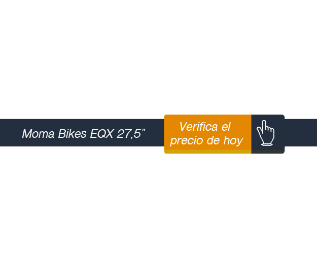Verificar precio de Momabikes Bicicleta Montaña EQX