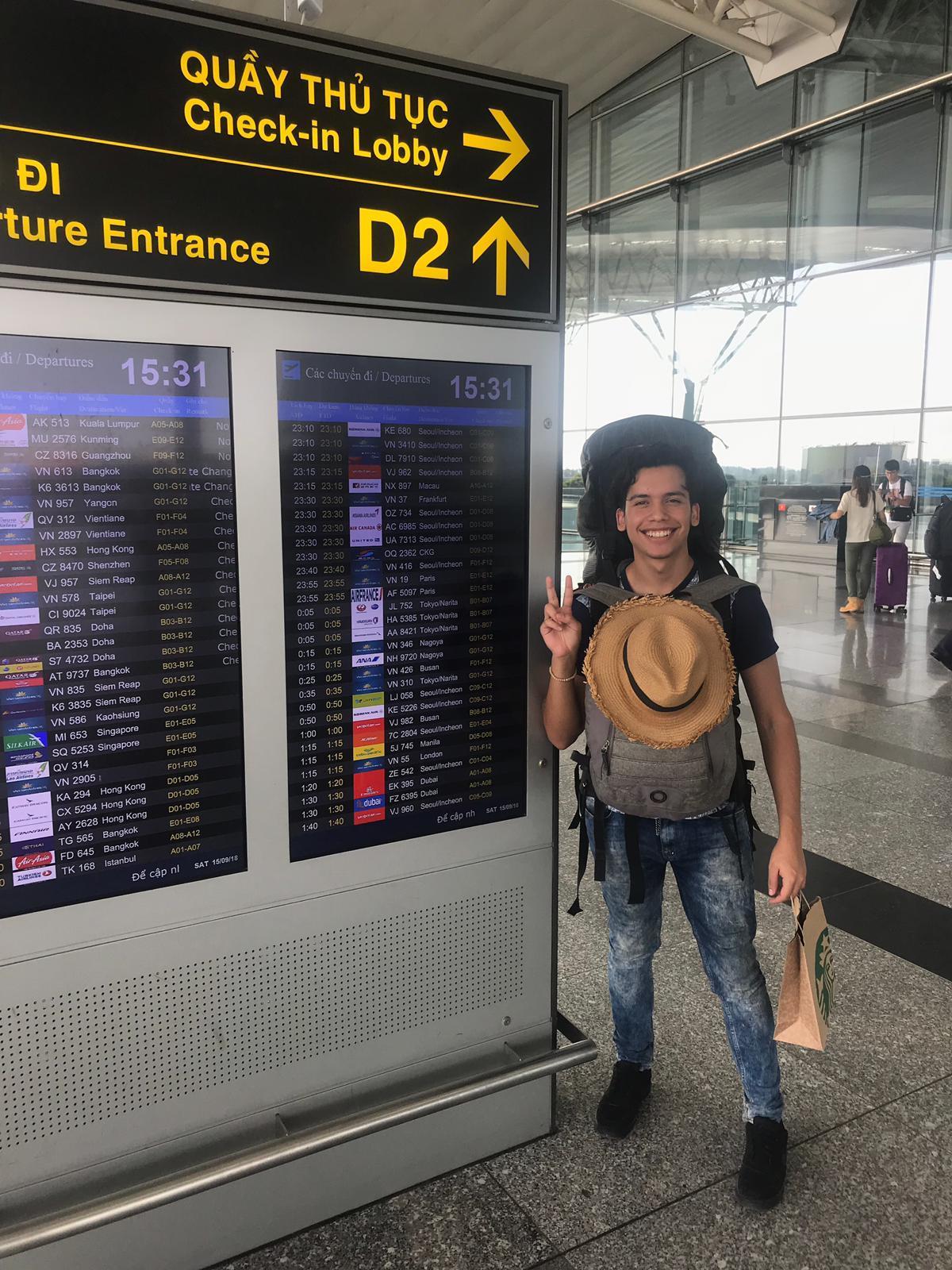 Camino a Camboya