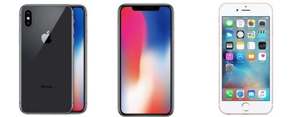 Ejemplo de celulares apple