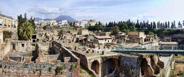 Las excavaciones de Herculano