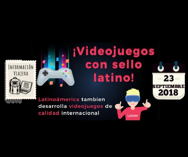 Videojuegos con sello latino