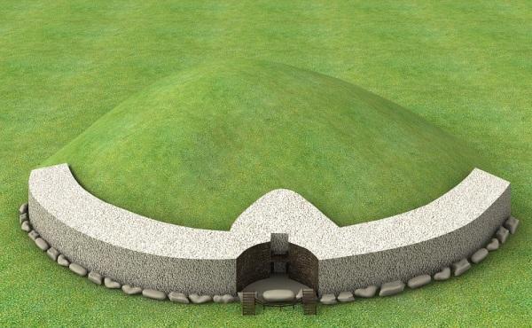 La tumba de paso de Newgrange