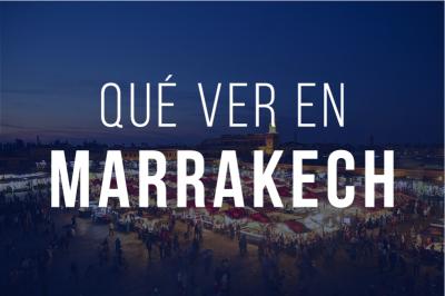 Que ver en Marrakech Indice