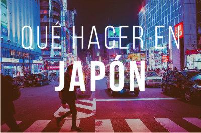 Que ver en Japon Indice