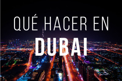 Lugares turisticos de Dubai Indice