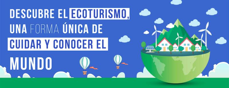 Infografía ecoturismo título