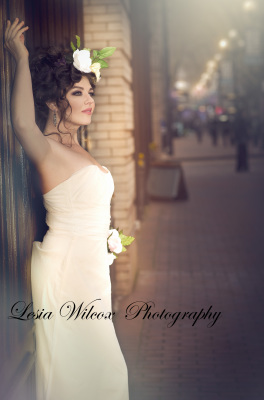 Modeling photoshoot in Downtown,photography by Lesia Wilcox Photography