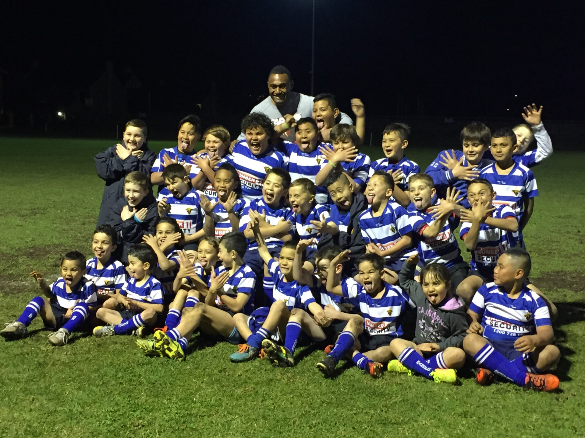 Tevita Kuridrani visits the Rocky boys!