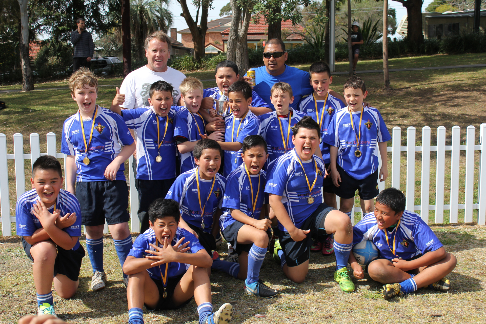 2013 Under 10 SJRU Saturday Comp Champions