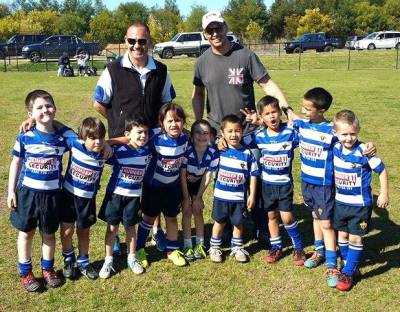 Under 6's 2015 - with Coach Sid and Roy