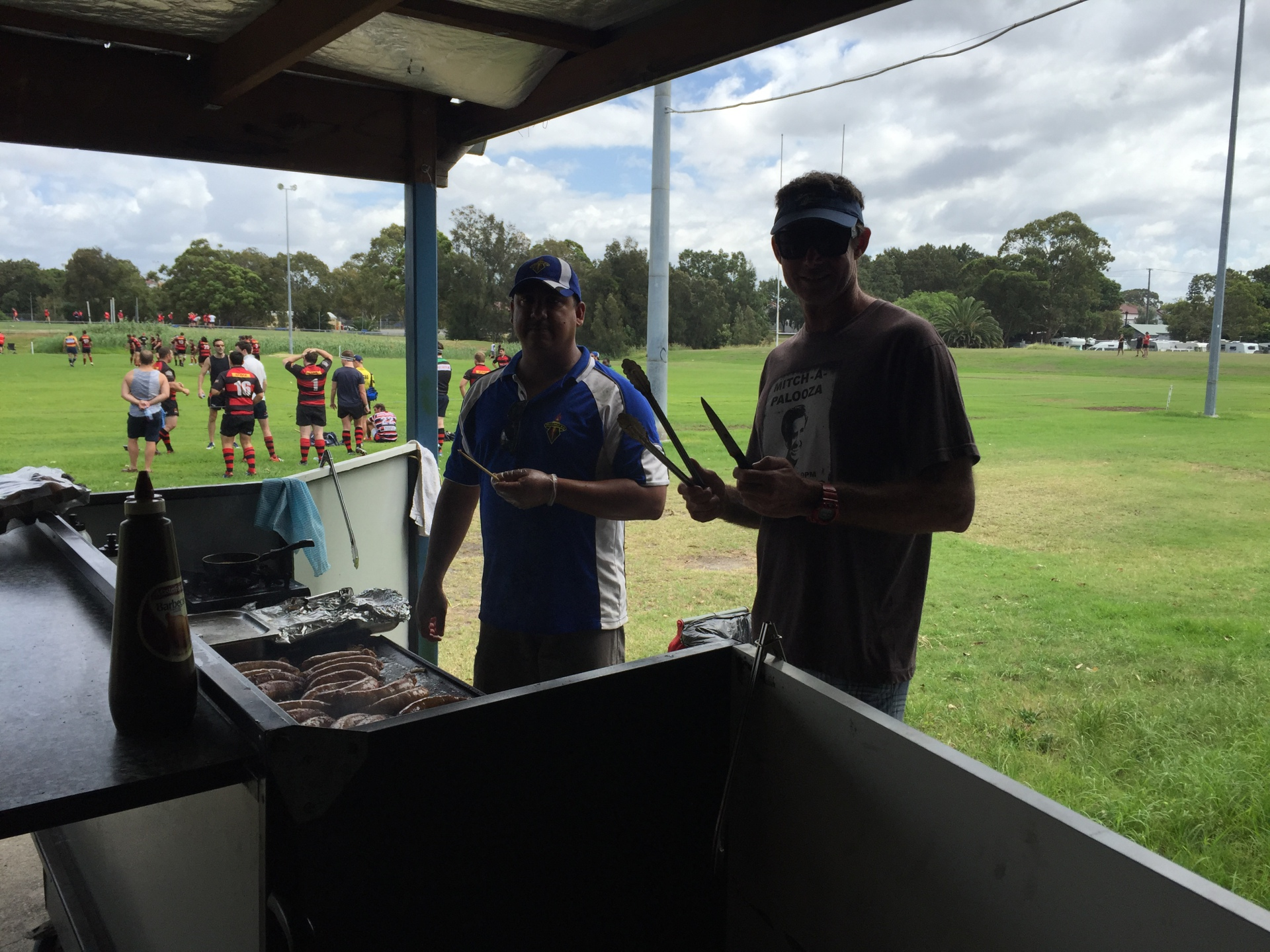 BBQ Men - East Trials 2016