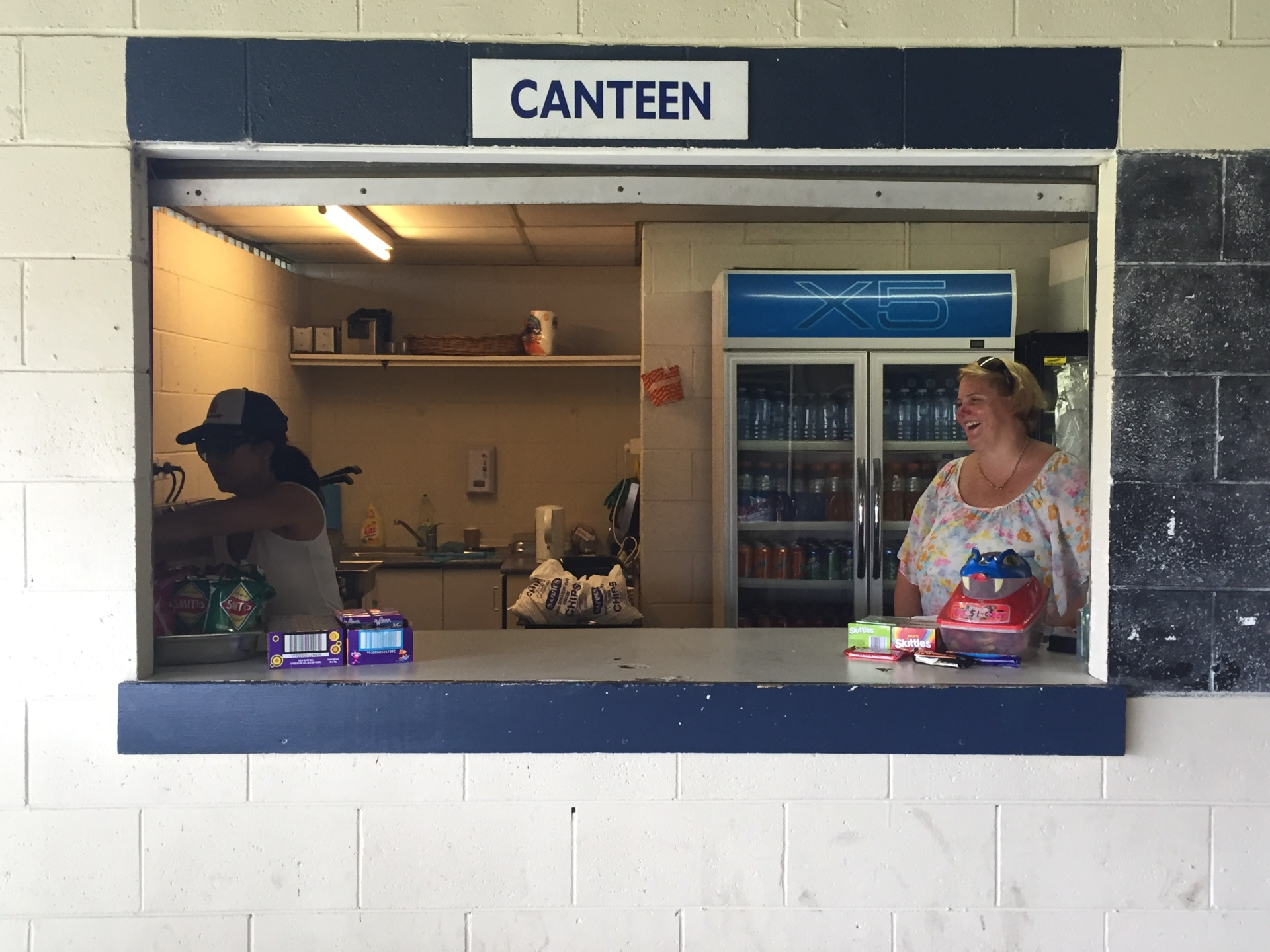Canteen Ladies - East Trials 2016