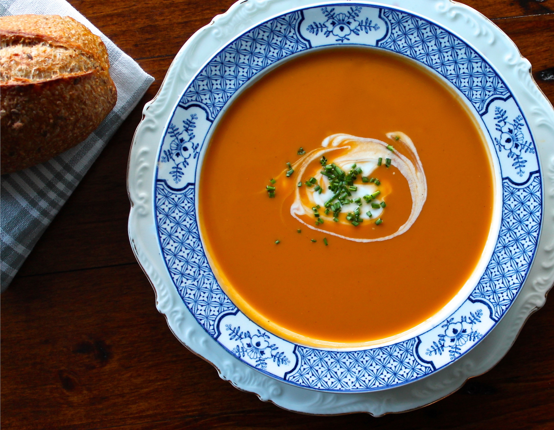 Cooking 101: Caramelized Carrot Soup