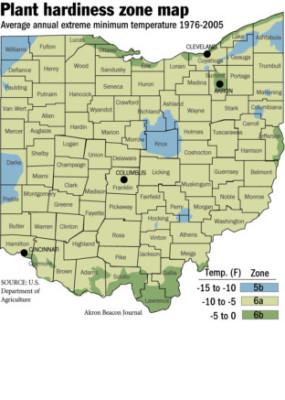 Dayton Ohio Plant Hardiness