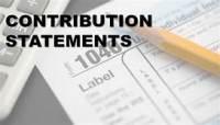 Contribution Statements
