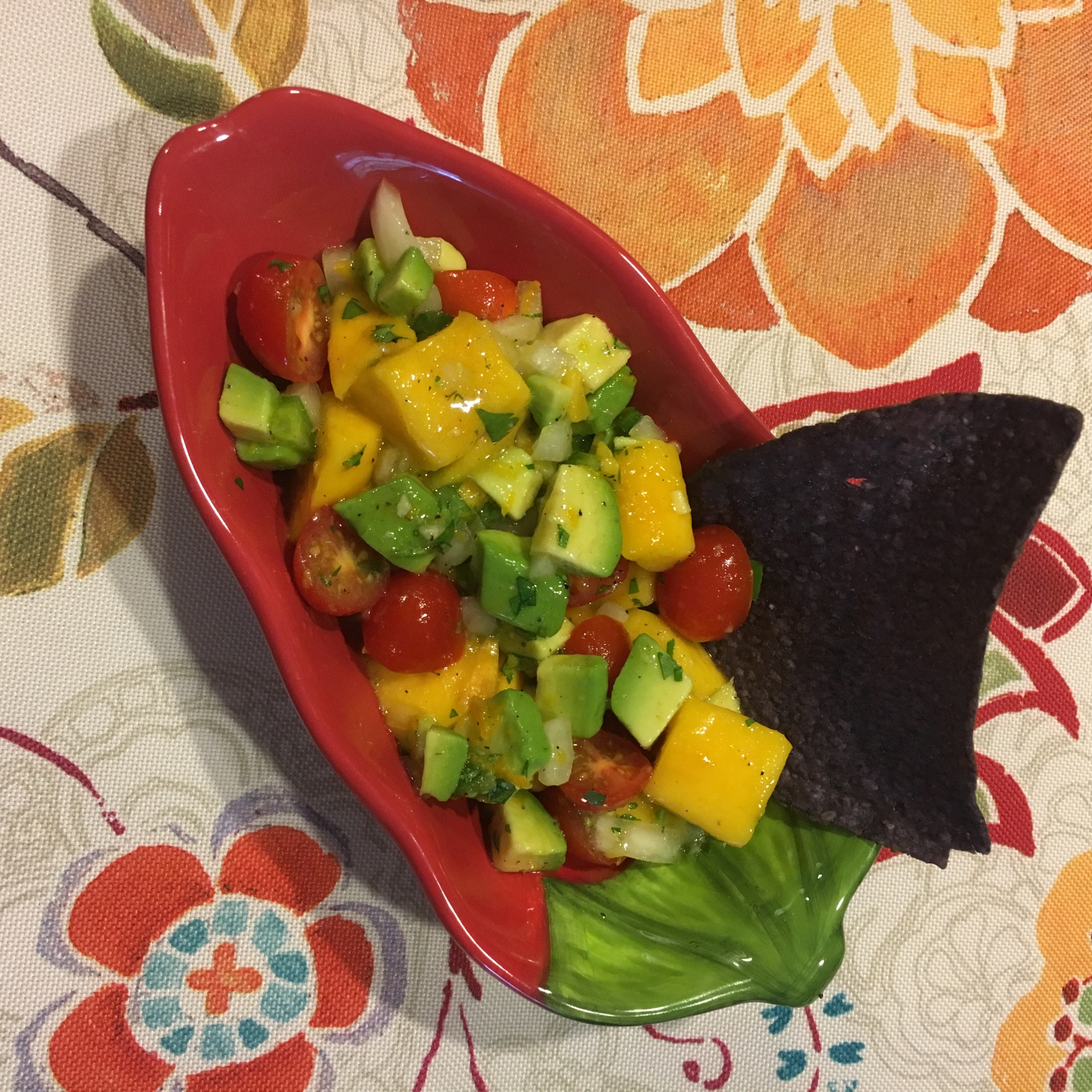Mango Salsa for Cinco de Mayo
