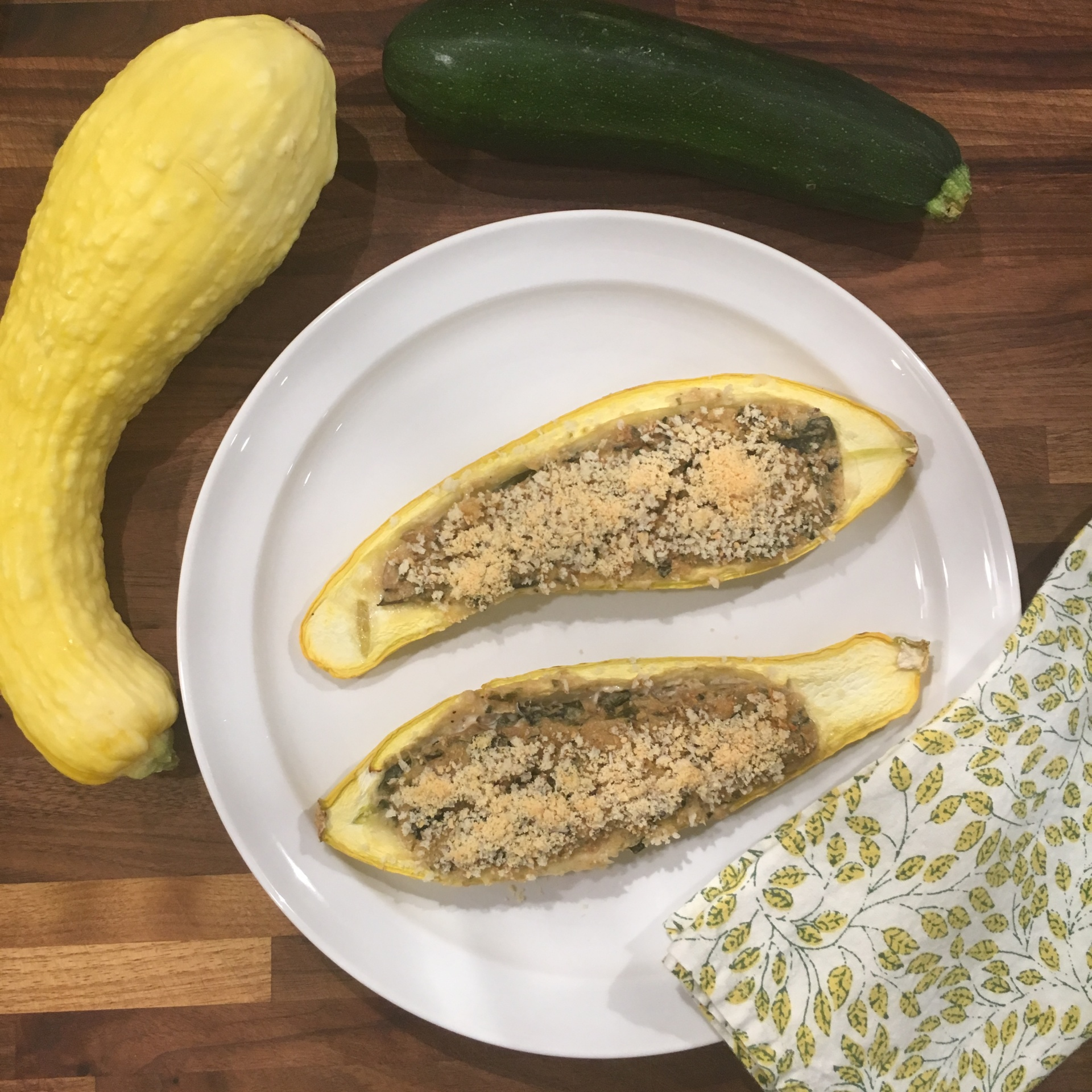 Delicious and Healthy Summer Squash Meal