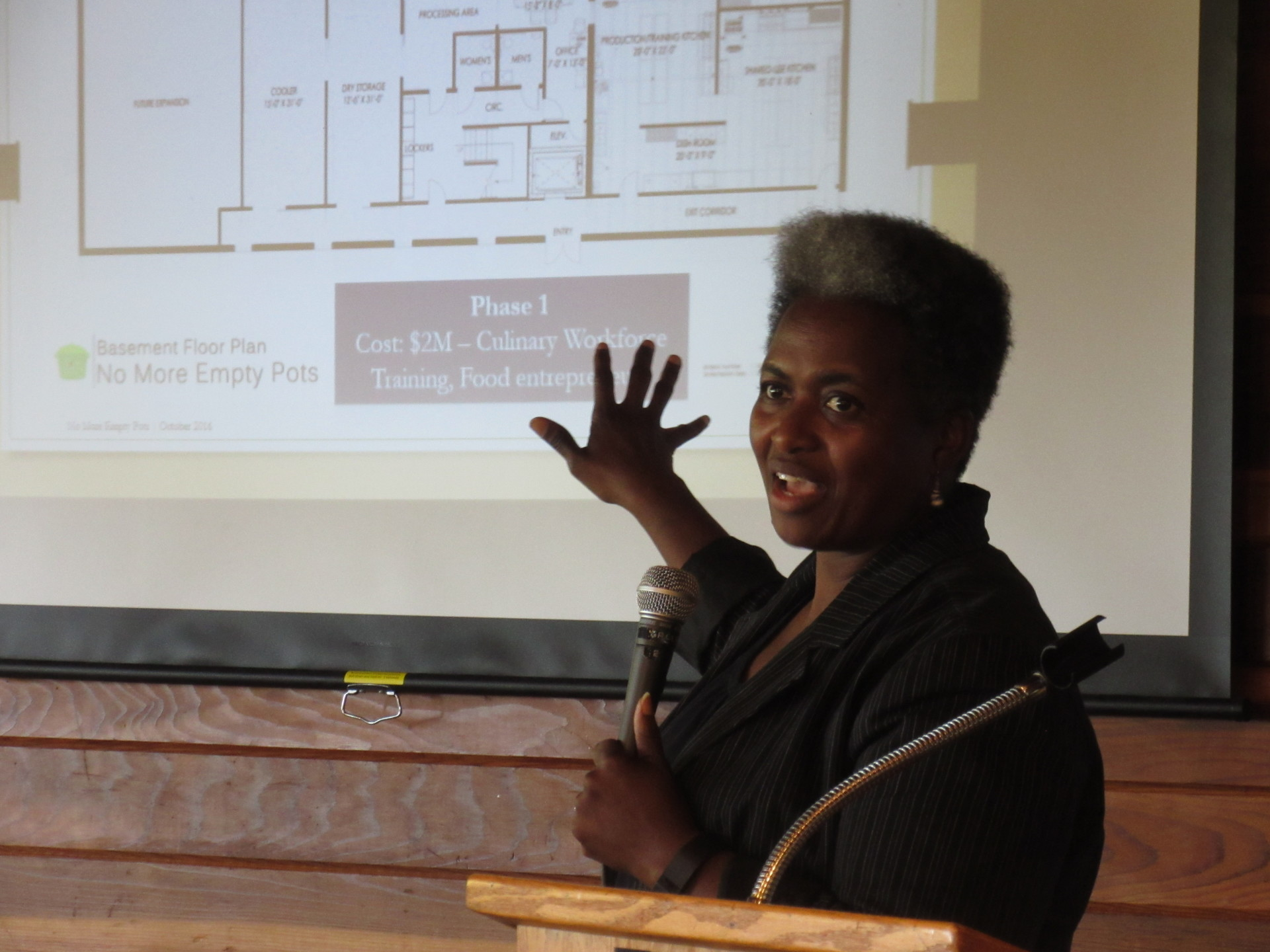 Add YouNancy Williamson of No More Empty Pots in North Omaha inspired us with a local food security modelr Title Here