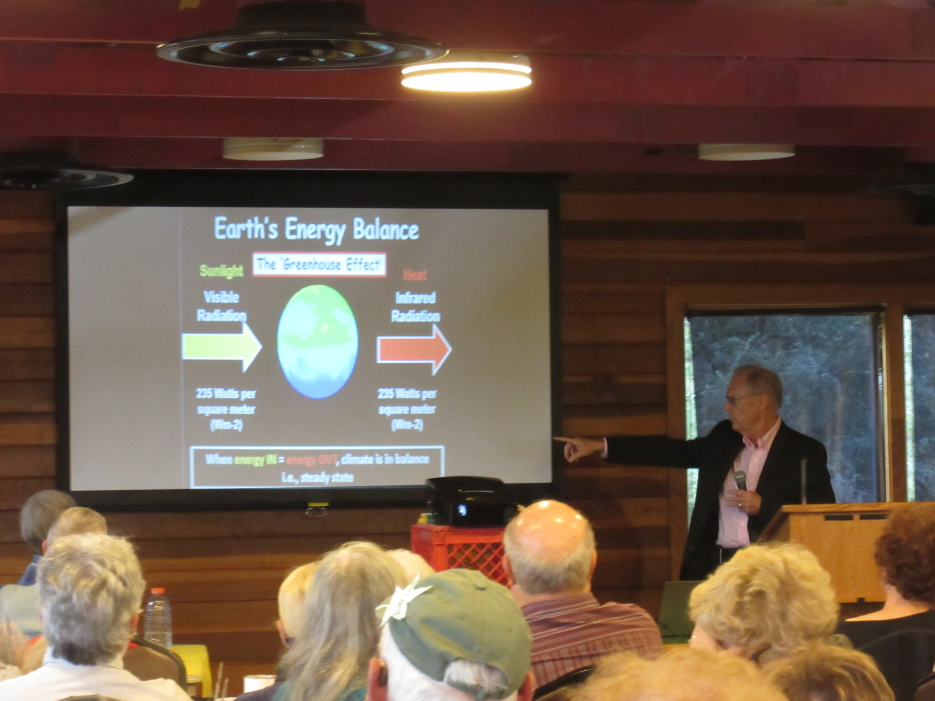 Don Wilhite, primary author of the UNL study  Understanding and Accessing Climate Change: Implications for Nebraska  explains the science.