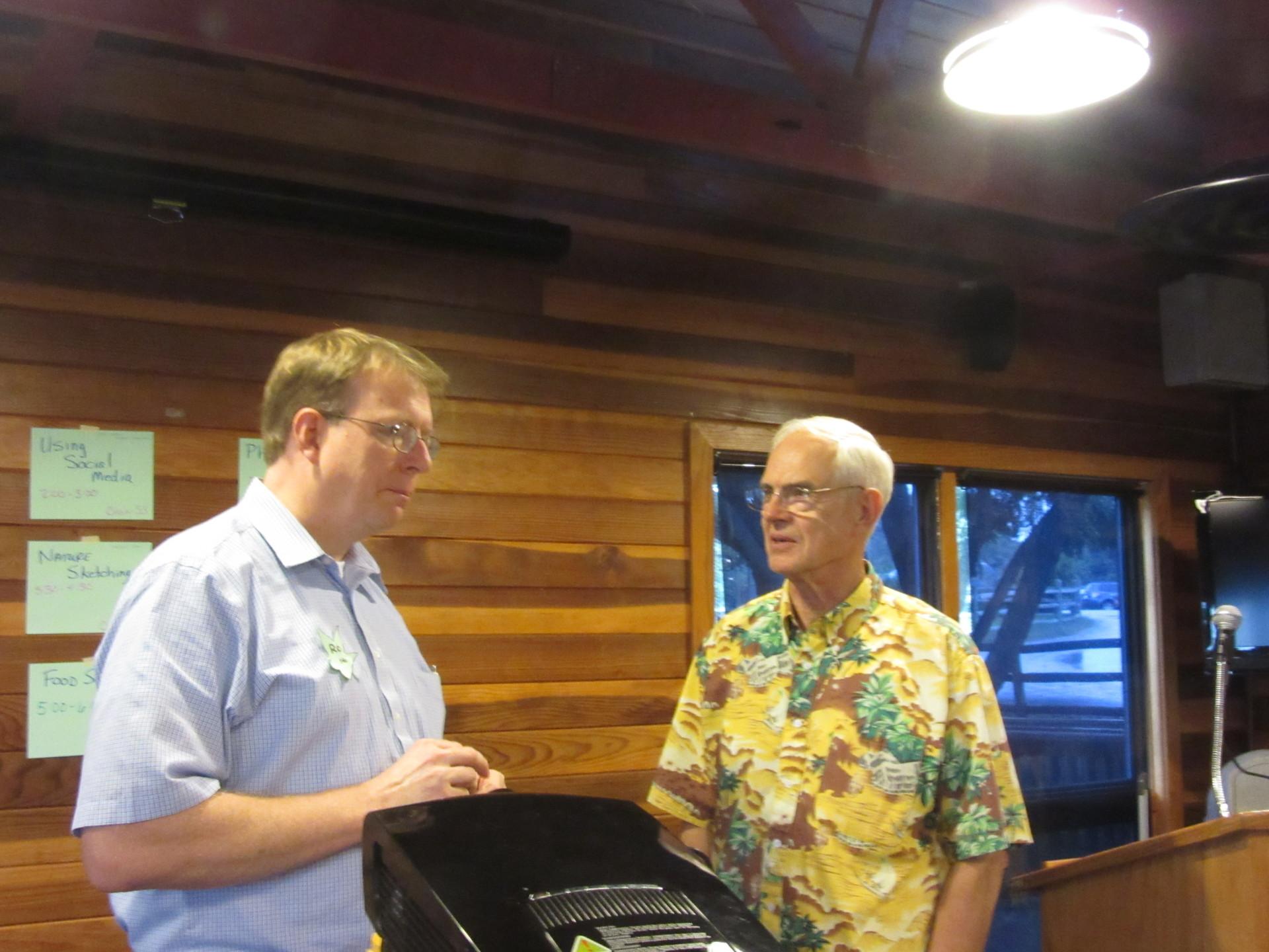 Iowa state senator Rob Hogg and Nebraska state senator Ken Haar compare climate realities that have no political boundaries.