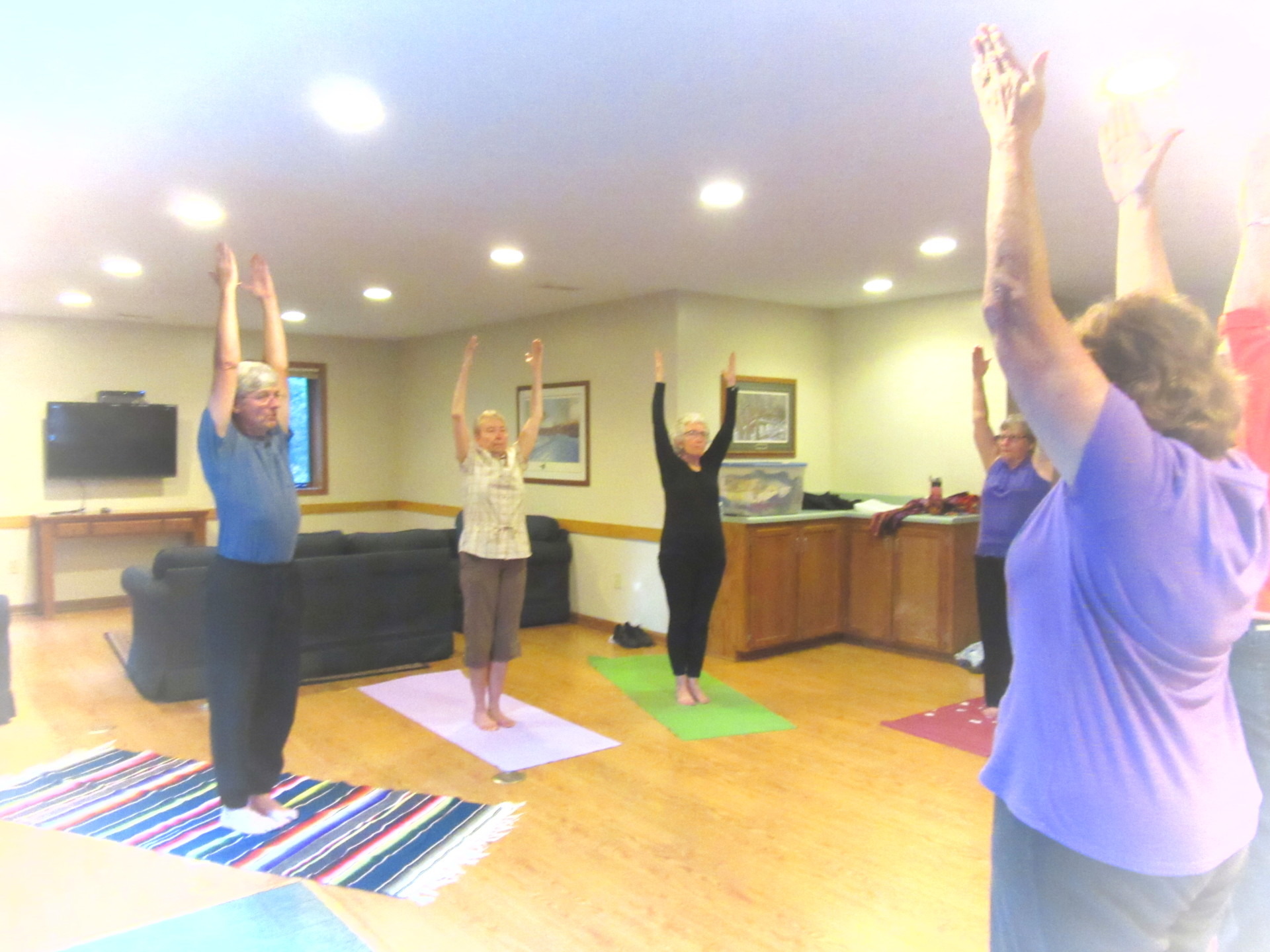 Yoga with Alan Vovolka.