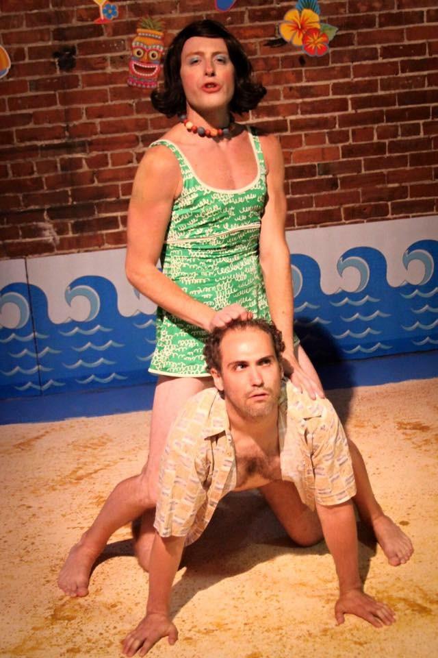 "Joey C. Pelletier & Mike Budwey, ""Psycho Beach Party"""