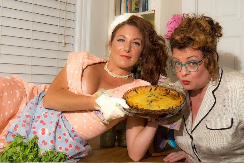 "Erin Rae Zalaski & Laurie Roop Singletary ""5 Lesbians Eating a Quiche"""
