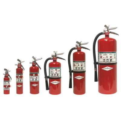 New Halon Fire Extinguishers