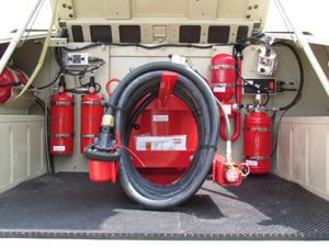 Truck Mounted Fire Extinguishers