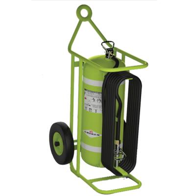 Wheeled Fire Extinguisher Units ABC to Halon