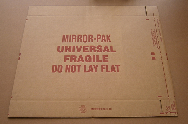 Picture Mirror painting packing Orlando